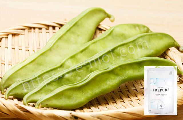 フレピュア成分効果口臭なた豆