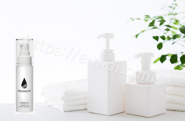 デオシークのワキガ汗臭足臭に効く原因菌殺菌成分イソプロピルメチルフェノール