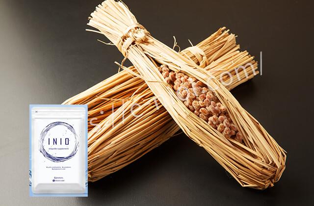 INIO イニオ 納豆 ポリグルタミン酸 効果 成分 口臭サプリ