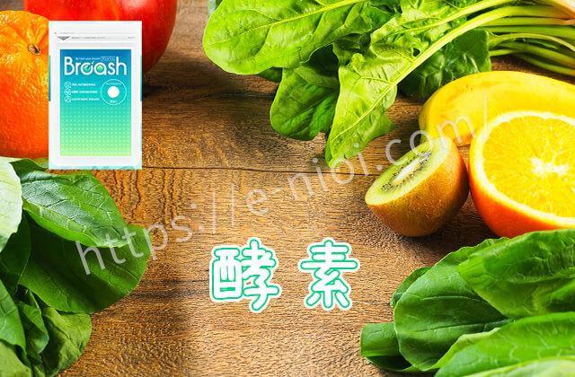 タンパク質分解酵素ブレッシュ