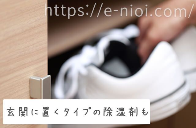 靴の臭い 対策 効果的 玄関に置く 除湿剤